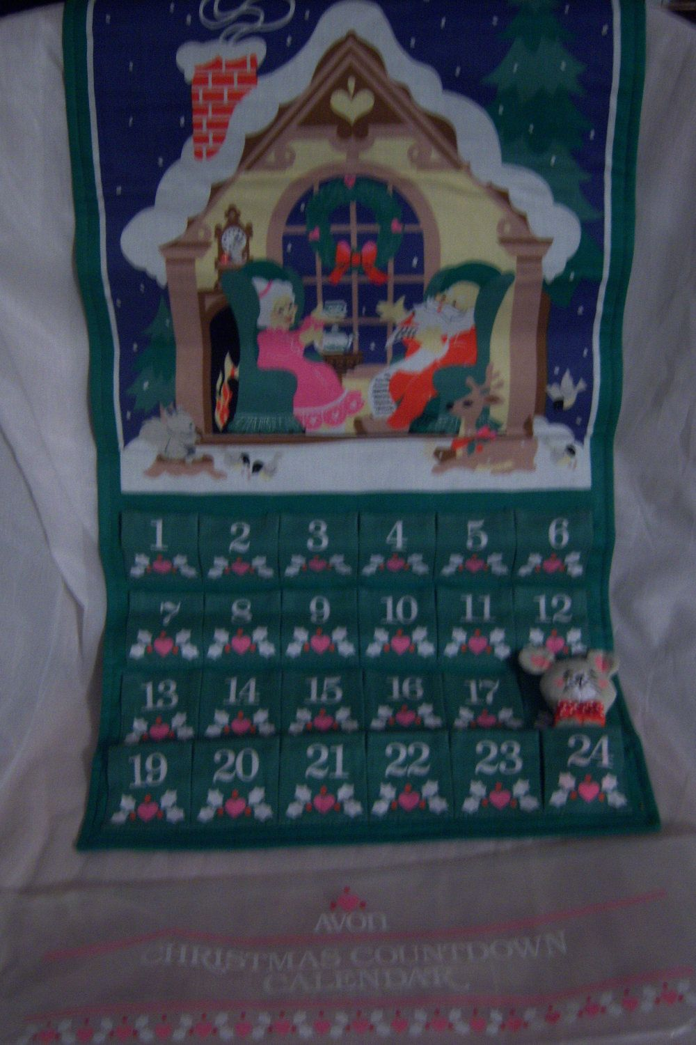 1987 avon christmas countdown calendar google search i have had this calendarsince the 80s one of my first purchases from avonmy girls argue over