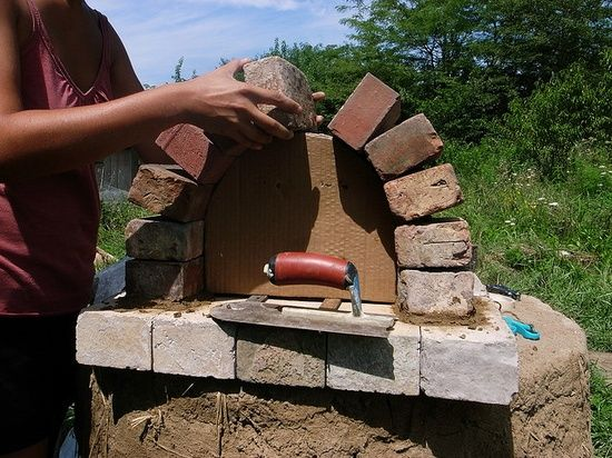 build an outdoor brick pizza oven for $2000\u2026hmmm, may be worth a