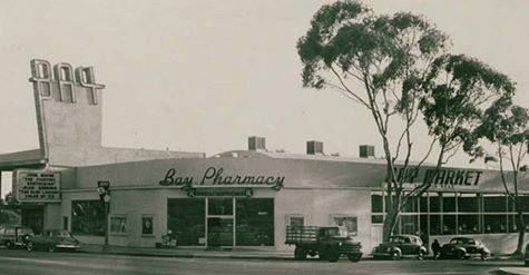 Bay Theater Bay Pharmacy Pacific Palisades 1953 Pacific Palisades Santa Monica Palisades