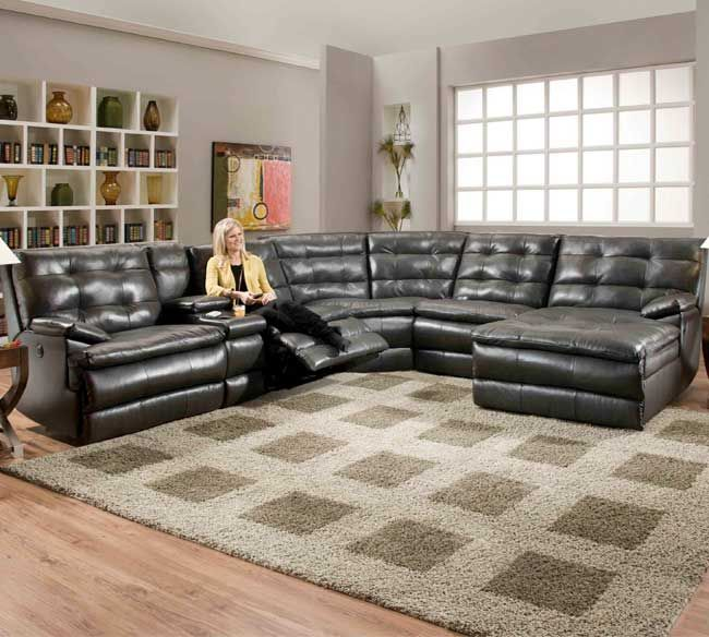 Southern Motion Comfort Scapes 882 Sofas Sectional