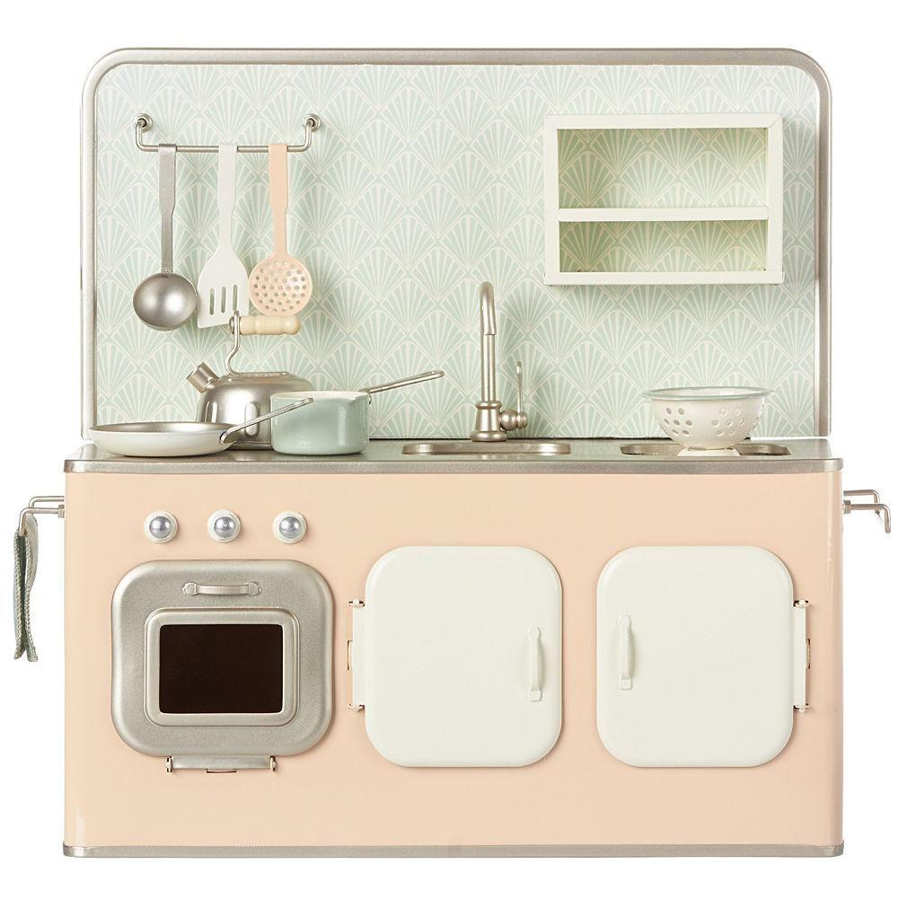 Maileg Metal Kitchen Set Toy Kitchen Kitchen Sets Bathroom