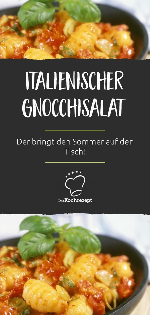 Italienischer Gnocchisalat