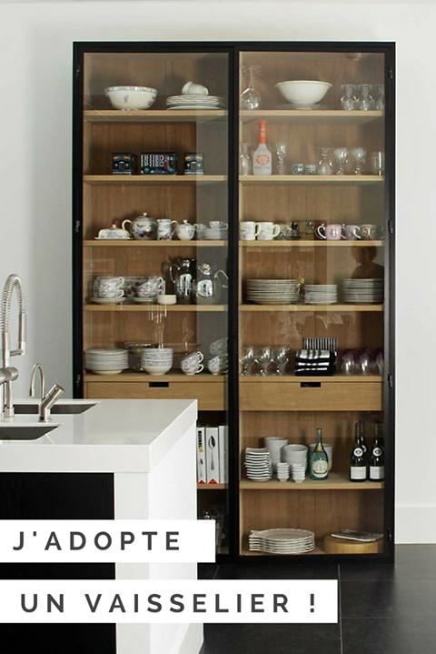 Conseils déco pour adopter un vaisselier | Alacena cocina, Alacena y ...