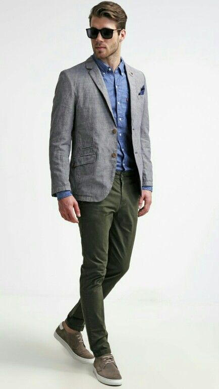 Shoes to wear with grey chinos