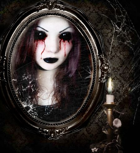 The Young Girl Was To Look Into Mirror And Call On Bloody Mary Ask