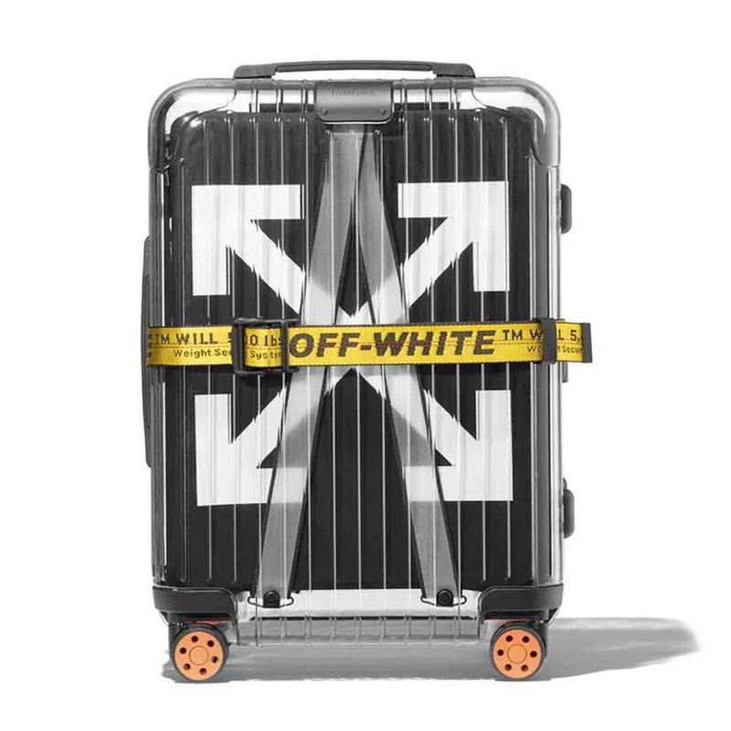 Rimowa X Off White Transparent Travel Luggage Suitcase Contact With Whatsapp 2120770546461 Off White Bag White Luggage Off White Fashion