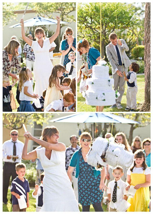 Wedding Piñatas ~ we ❤ this! moncheribridals.com ~