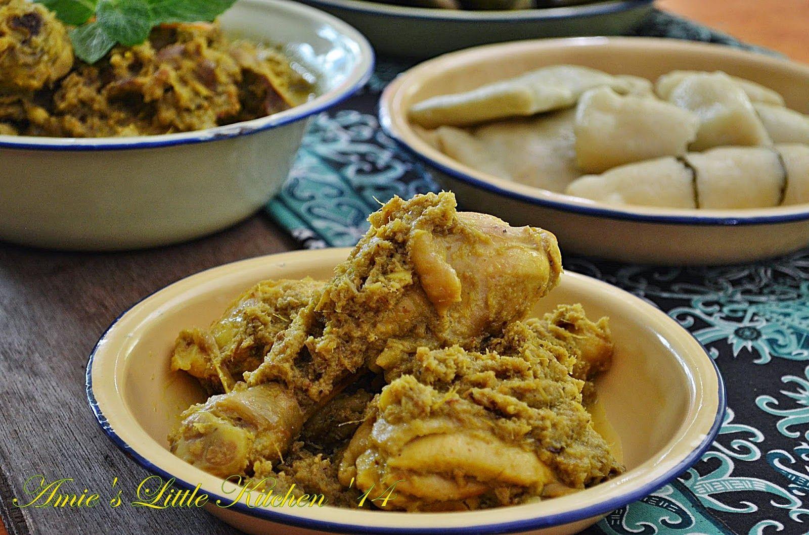 Amie S Little Kitchen Jom Kenali Resepi Ayam Masak Lengkuas Nasu Likku