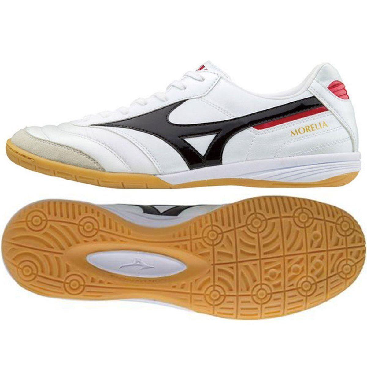 Buty Halowe Mizuno Morelia In M Q1ga170009 Biale Biale Indoor Shoe Mens Football Boots Football Boots