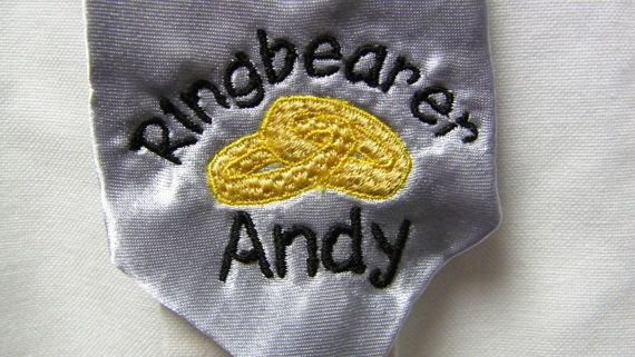 Personalized Custom Embroidered Tie for your by mrsstitchsboutique, $9.95