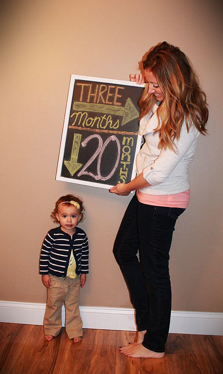 My pregnancy announcement photo – Fun Baby Announcement