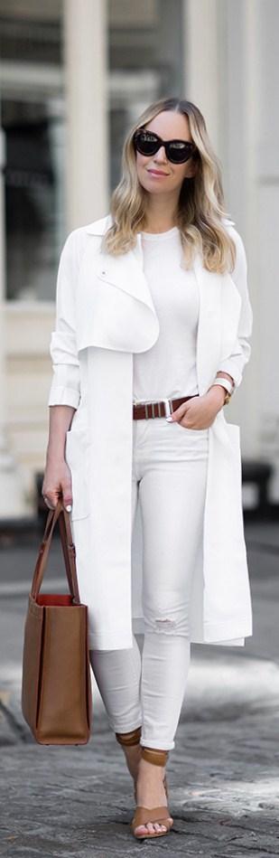 Fresh {White & Tan} // Fashion Trend By  Brooklyn Blonde