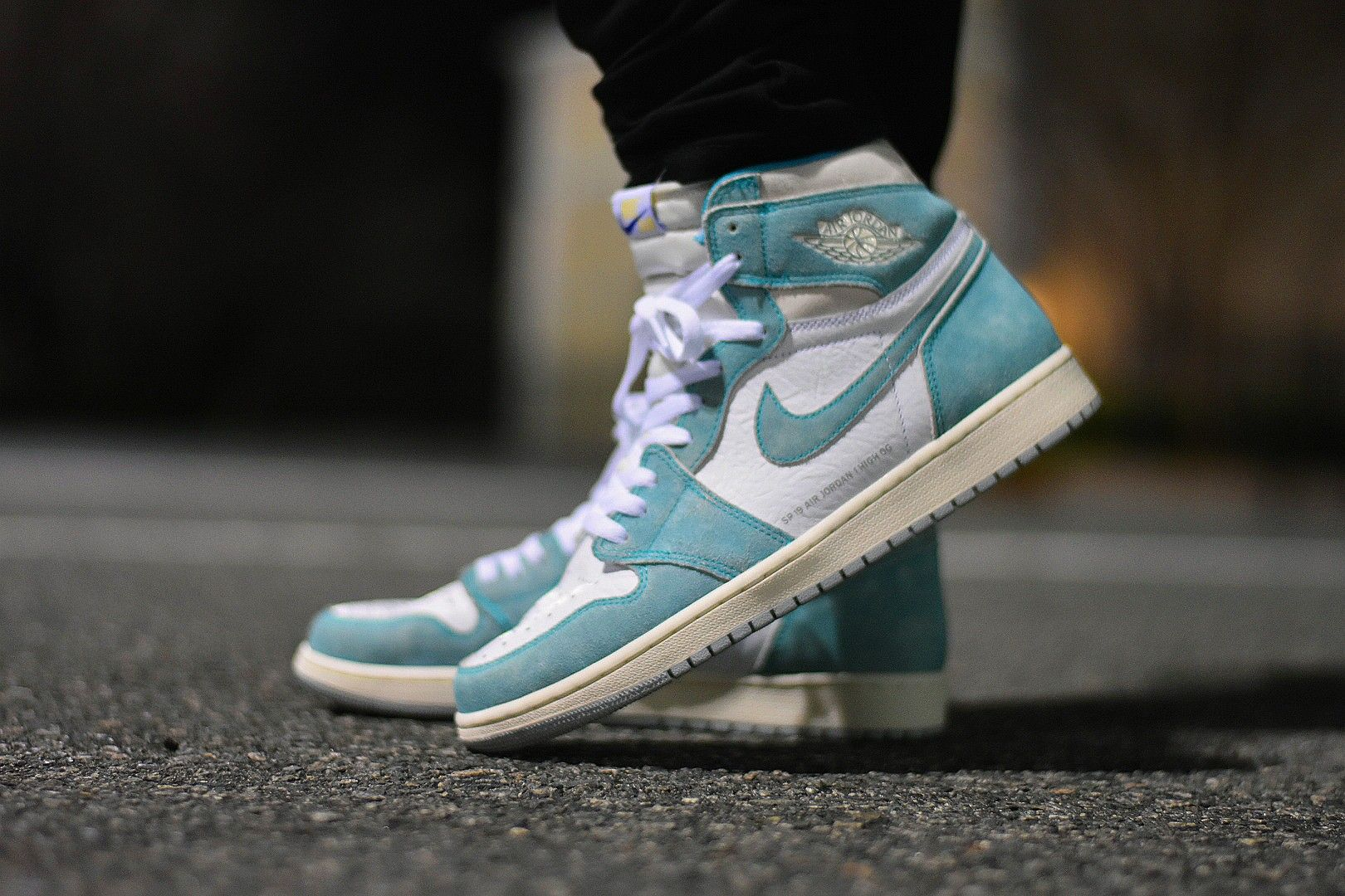 781ee350200 Air Jordan 1 Turbo Green on feet. Sneakers. @Nike @Jordan23 ...