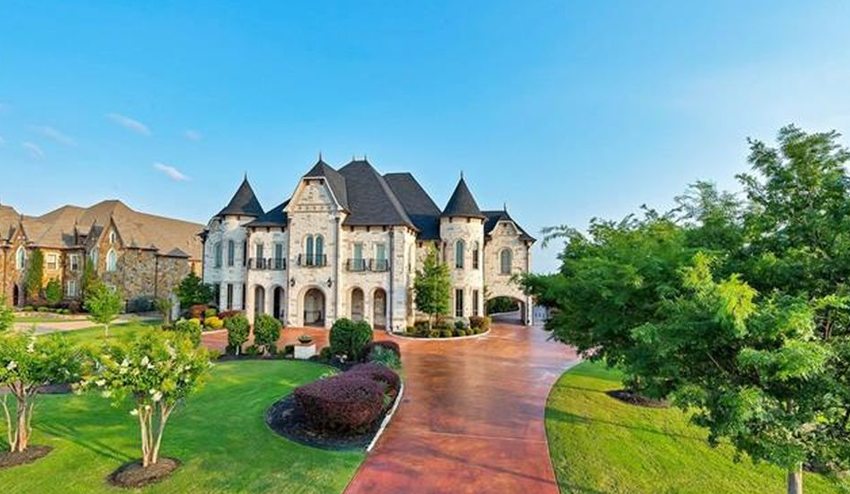 This Castle Like Stone Mansion Is Located At 533 Coyote Road In Southlake Texas