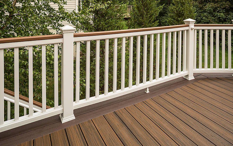 Best Trex Transcend® Composite Deck Railing Trex Deck 400 x 300