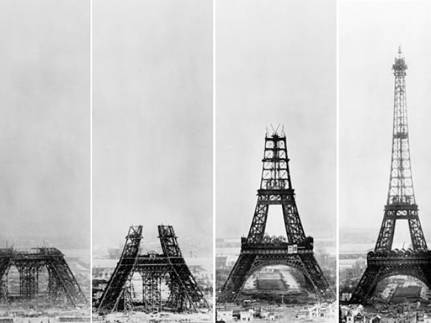 Torre Eiffel, Gustavo Eiffel, 1889.