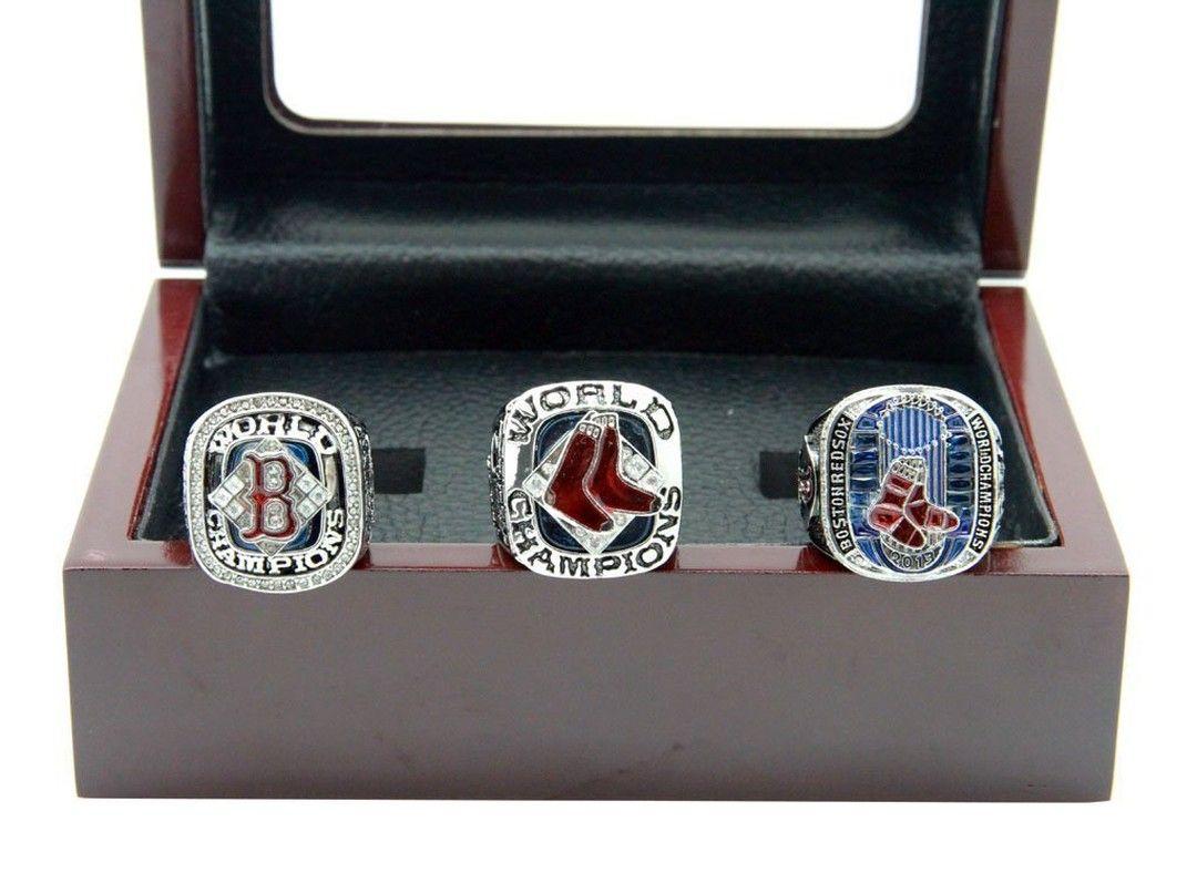 Boston Red Sox Mlb World Series Championship Ring Set For Sale Click Bio To Buy Bostonredsox Redsox Redsoxn Red Sox Game Championship Rings Mlb World Series