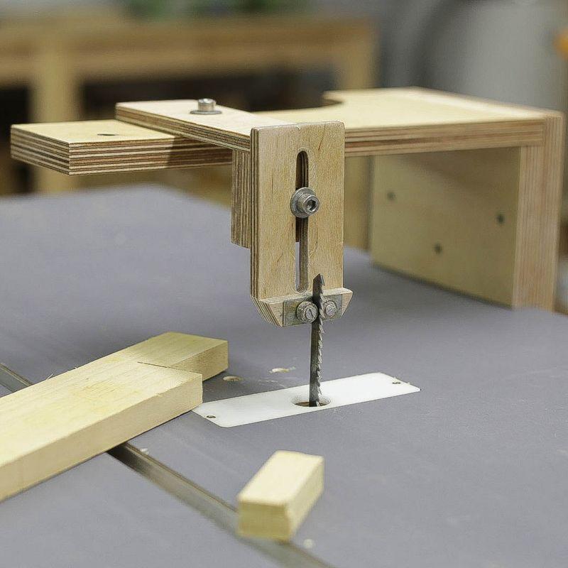 Planos gu a caladora para sierra de mesa guarda for Mesa herramientas