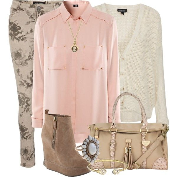 Day wear by helenrosemay on Polyvore