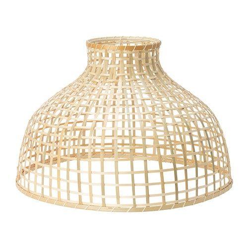 Ikea Gottorp Pendant Lamp Shade Each Handmade Natural Fiber