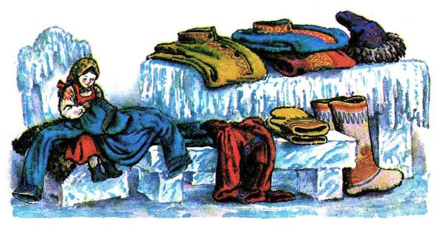 Днем рождения, картинки мороз иванович и ленивица