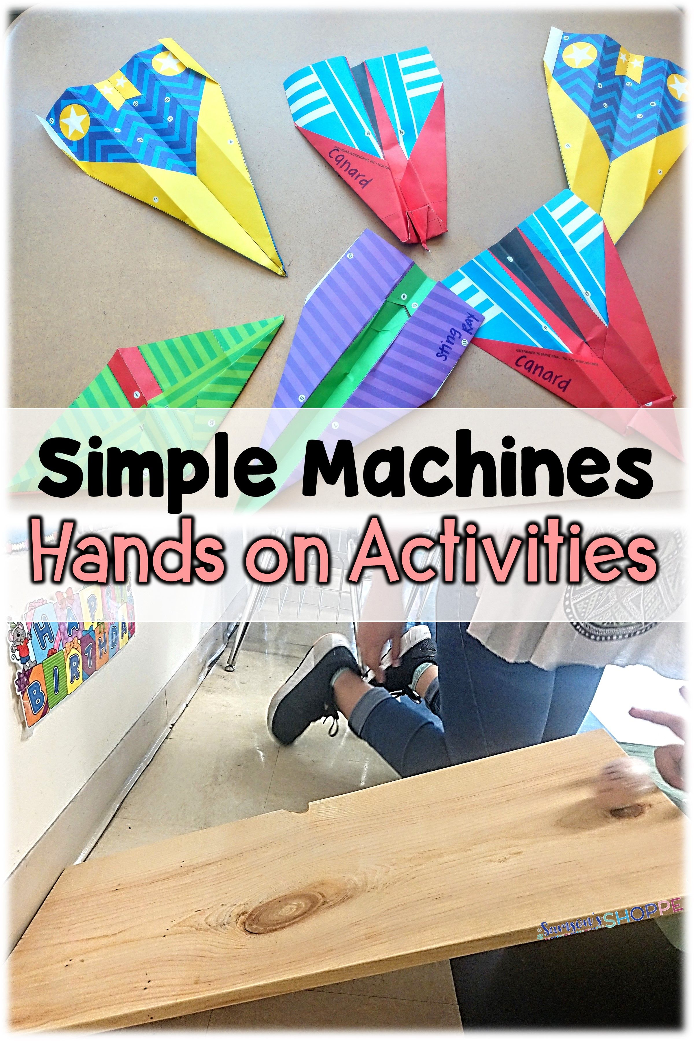 hight resolution of Simple Machines   Reinforce learning of the screw