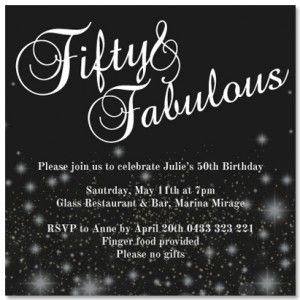 FROM ONLY 100 each Diamante Sparkle Birthday Invitations from www
