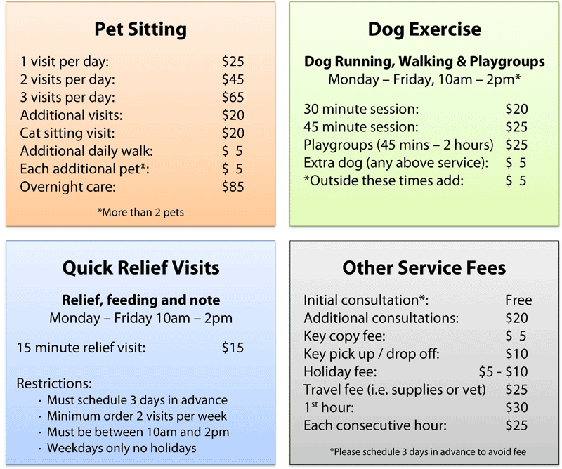 Rates CapeK9Cardio Cape Cod Pet Sitting & Dog Walking