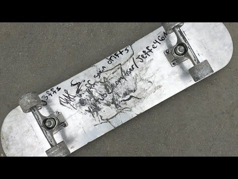 FULL METAL SKATEBOARD | YOU MAKE IT WE SKATE IT EP 8 - YouTube