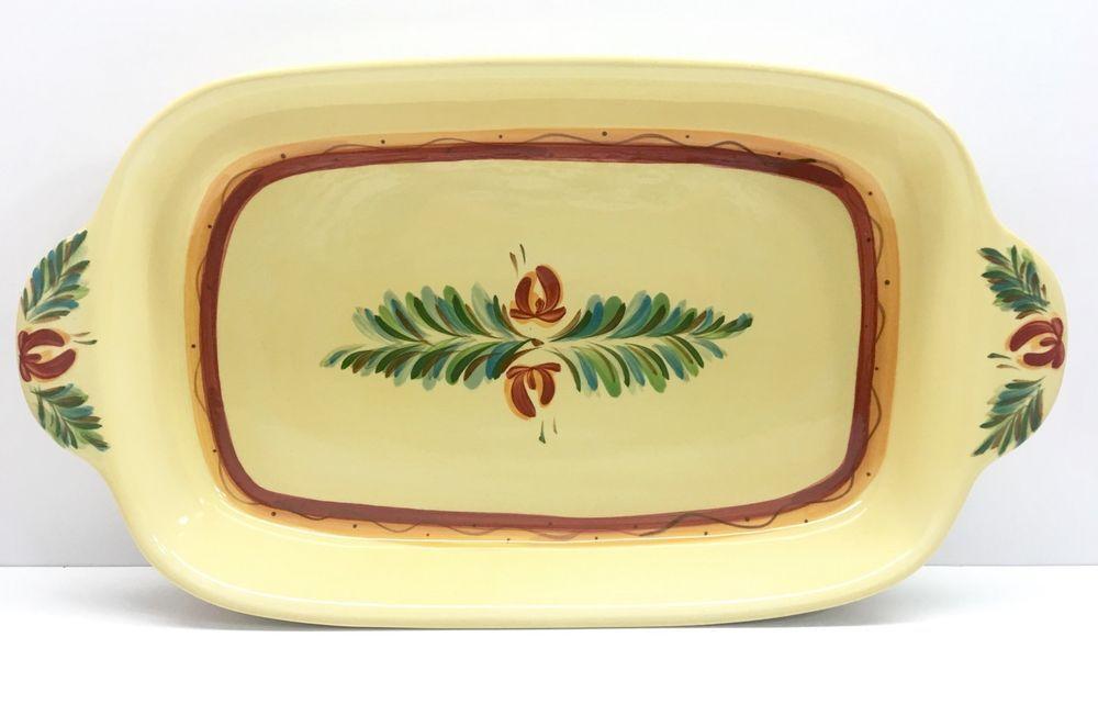 Southern Living At Home Gail Pittman Sienna Rectangular Baking Casserole  Dish | EBay