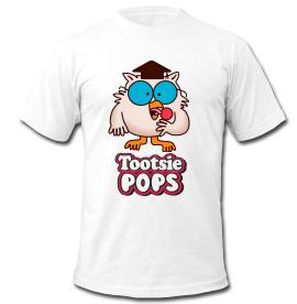Tootsie Pop Mr. Own How Many Licks T-Shirt #MrOwl #TootsieRoll WWW.SNARFDOG.COM