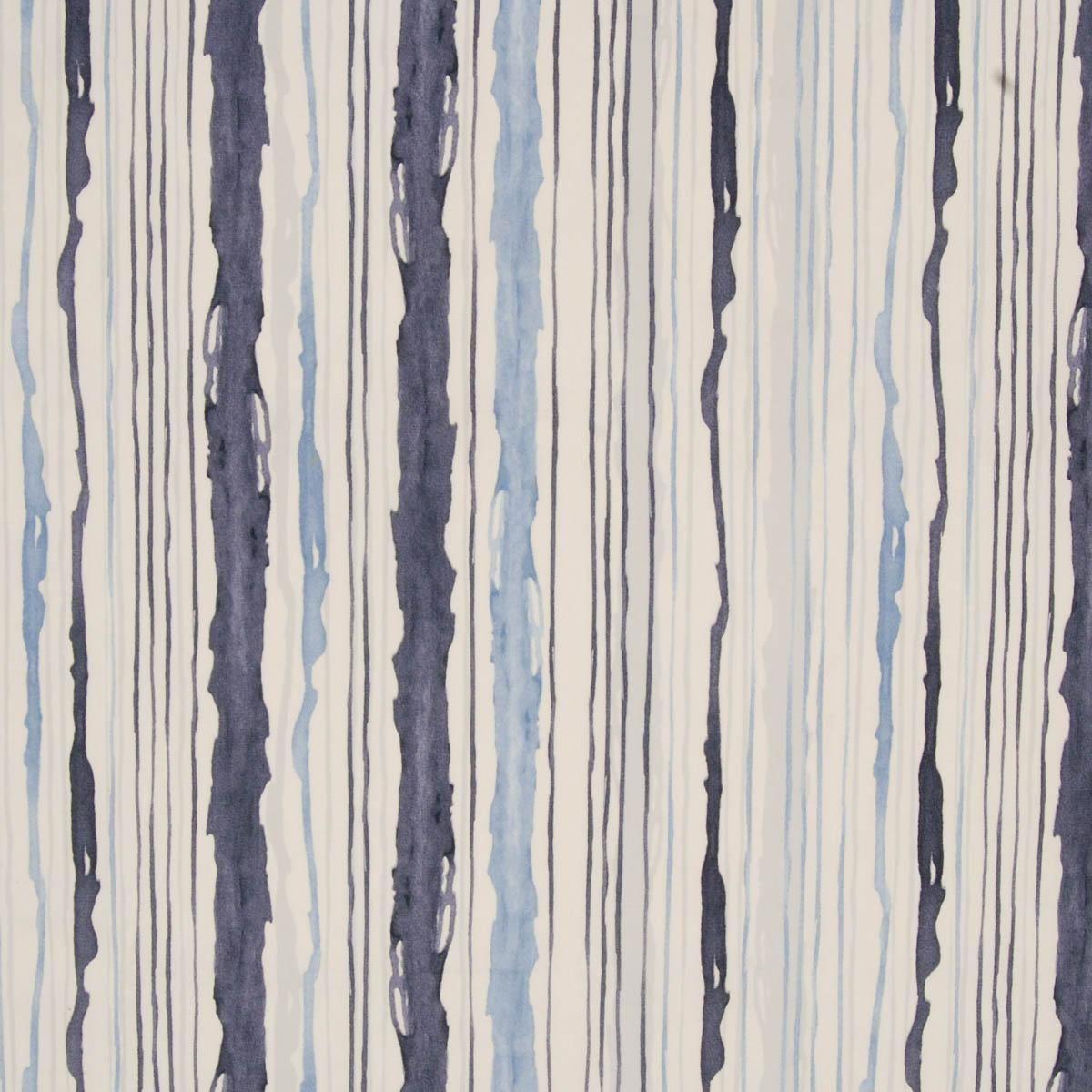 Kodie Stripe Curtain Fabric Horizon | Cheap Printed Curtain Fabric ...