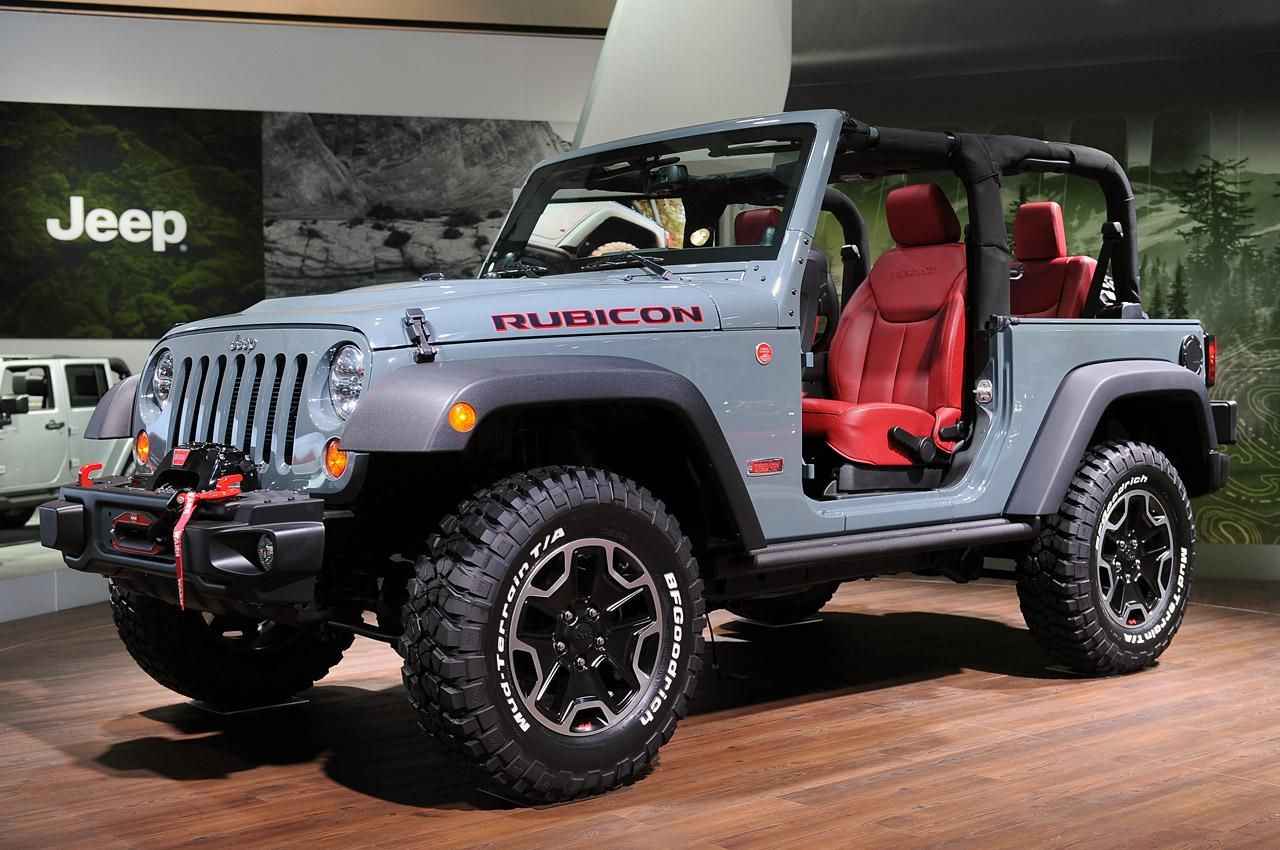 2013 Jeep Wrangler Rubicon 10th Anniversary Jeep Wrangler