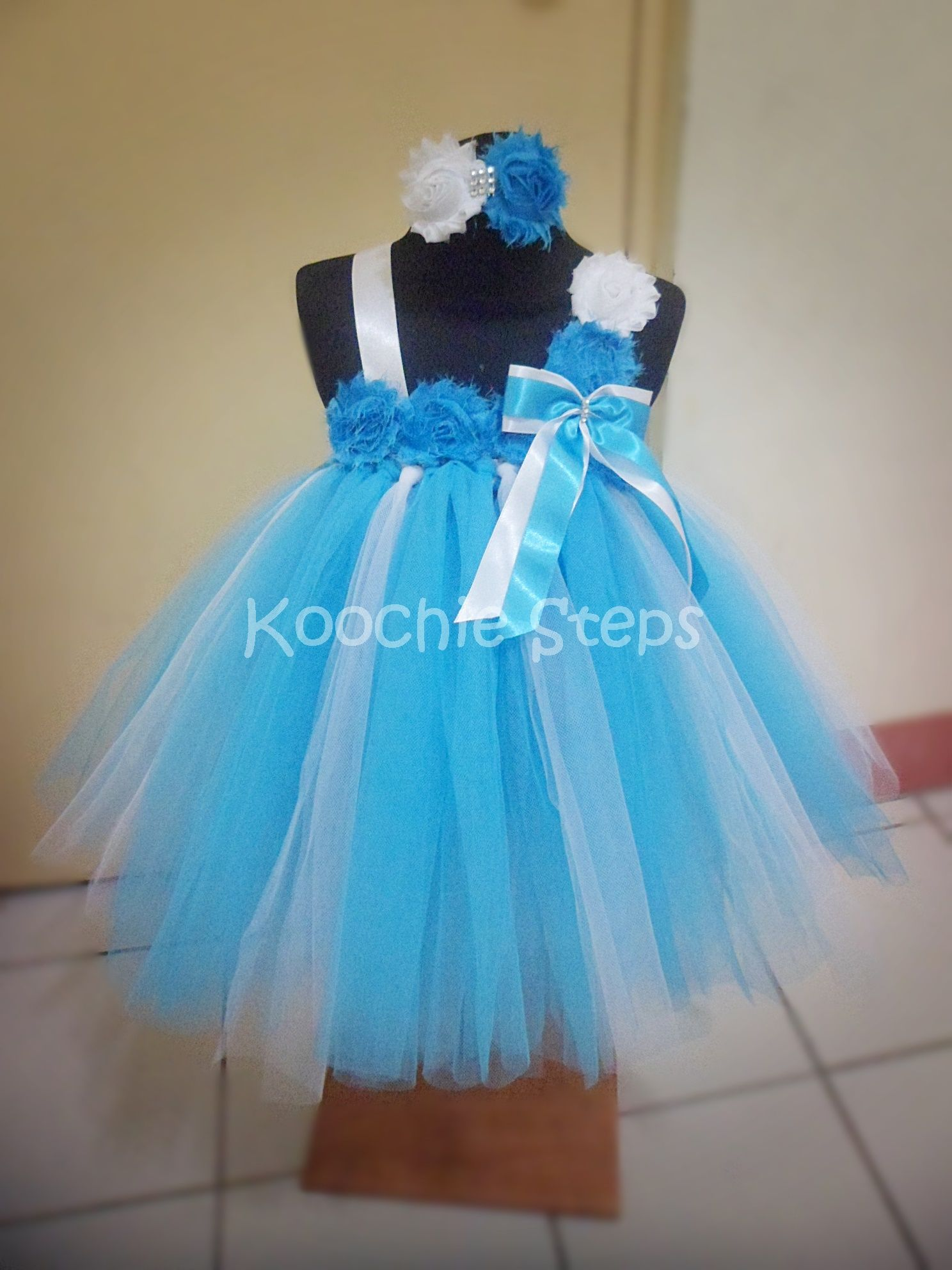 Turquoise and White Tutu Soothes.... | My Tutu Creations | Pinterest ...