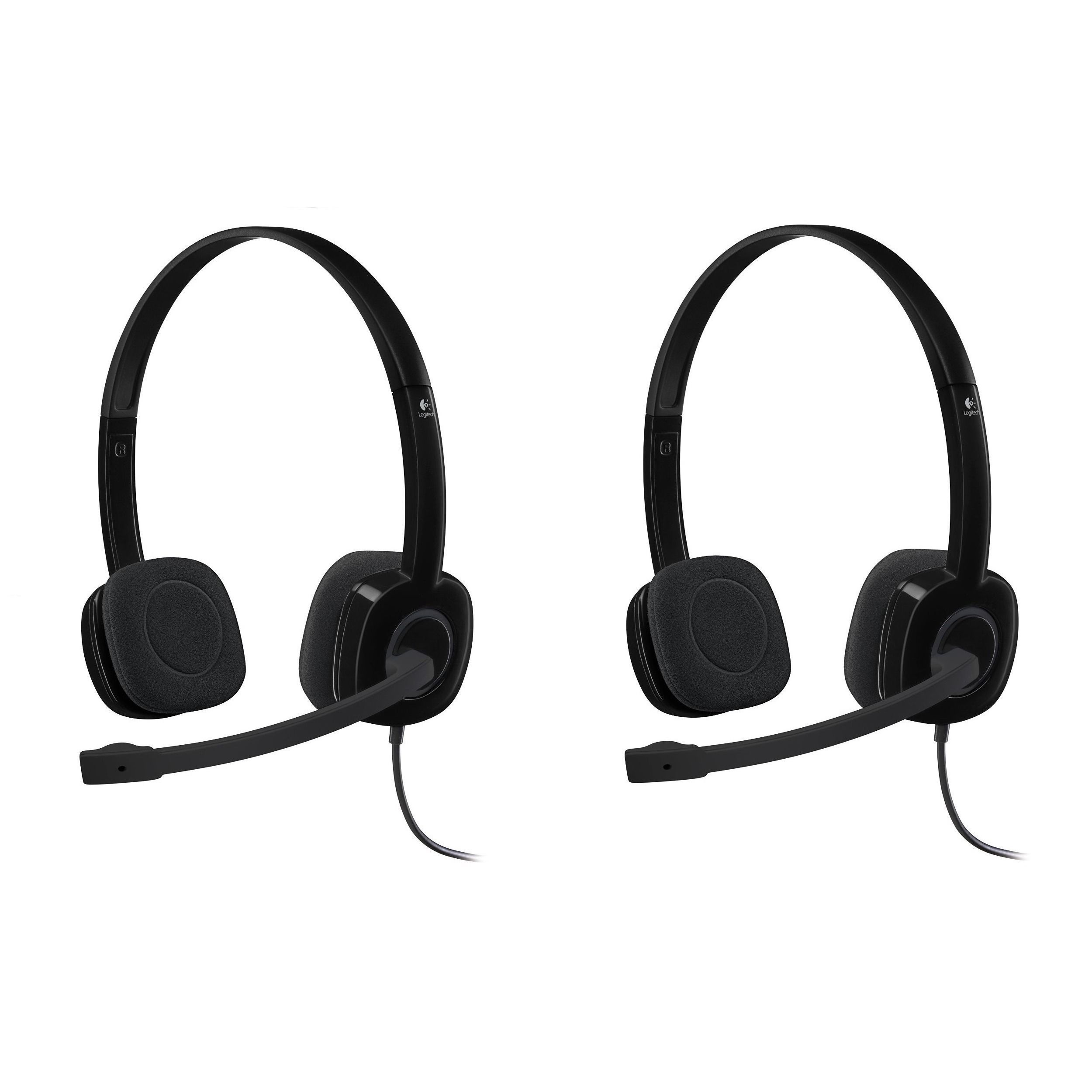 Logitech stereo headset h products pinterest