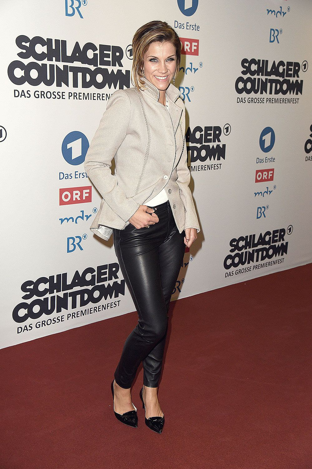 Anna Maria Zimmermann Attends The Schlagercoutdown Mode Mode