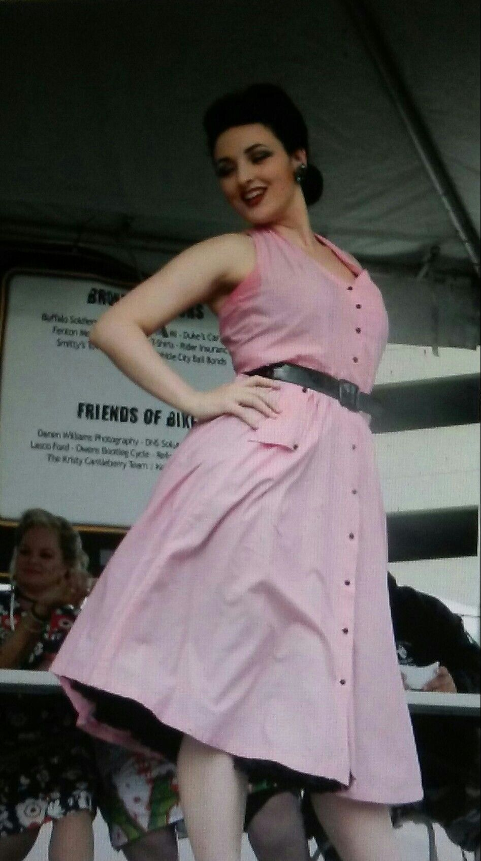 Pinup in pink!