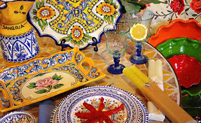 Spanish tableware & Spanish tableware   Spain - Spanish   Pinterest   Spanish Glaze ...