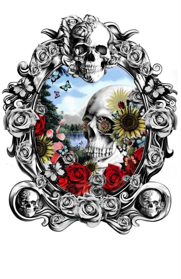 Skull Designs by Kristy Patterson: http://skullappreciationsociety.com/skull-designs-kristy-patterson/ via @Skull_Society