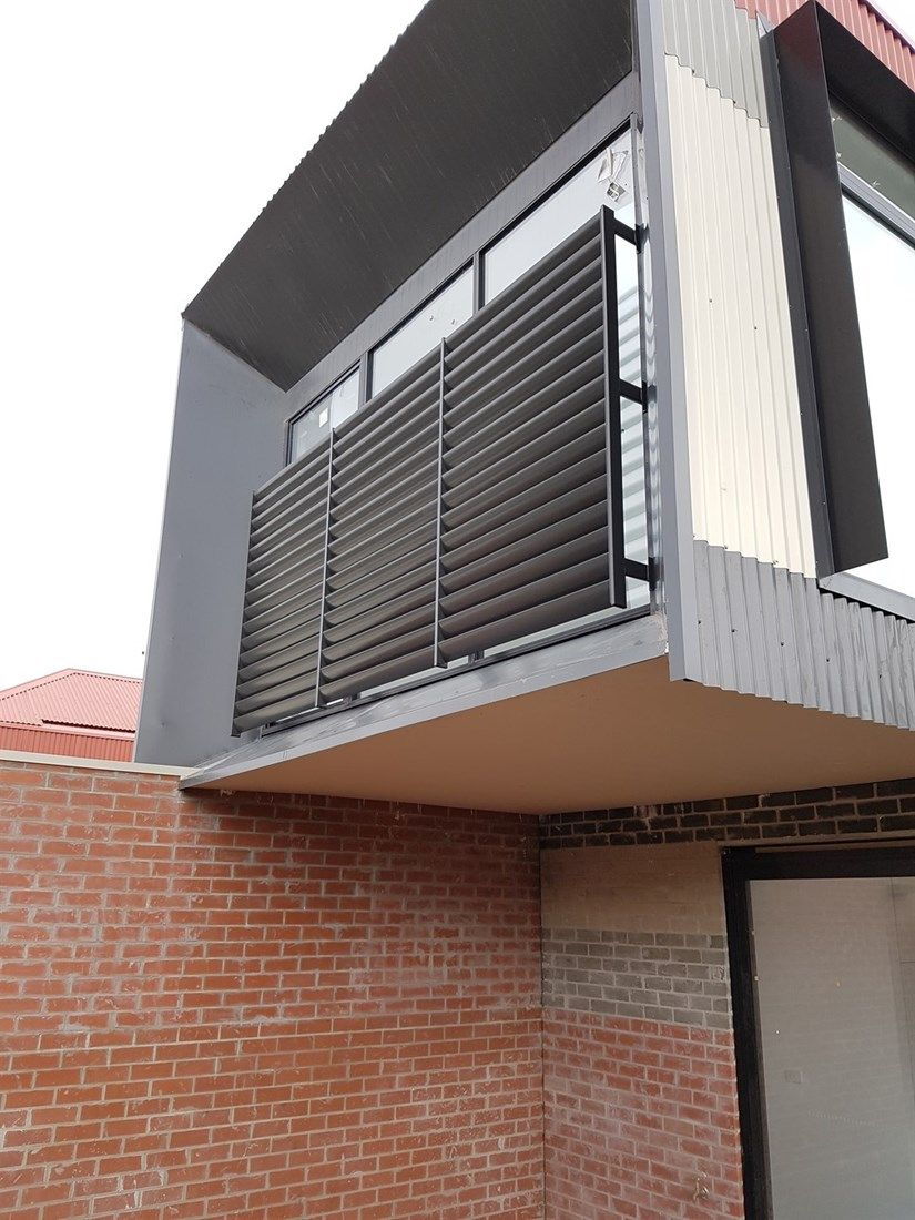 Louver Blade Window Privacy Screen Outdoor Window Shutters