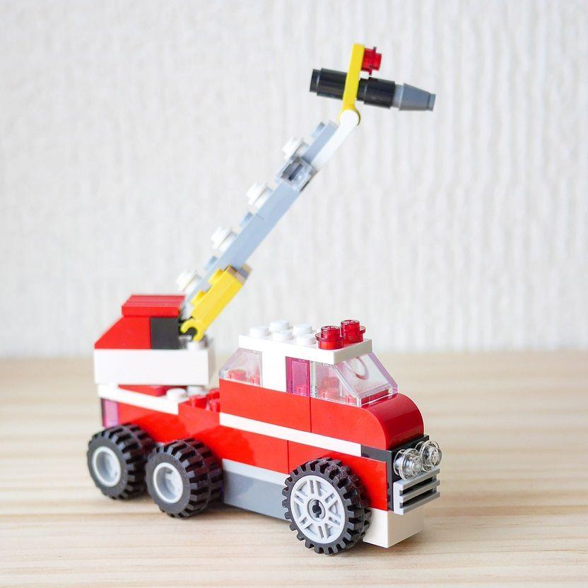 レゴ 消防 車