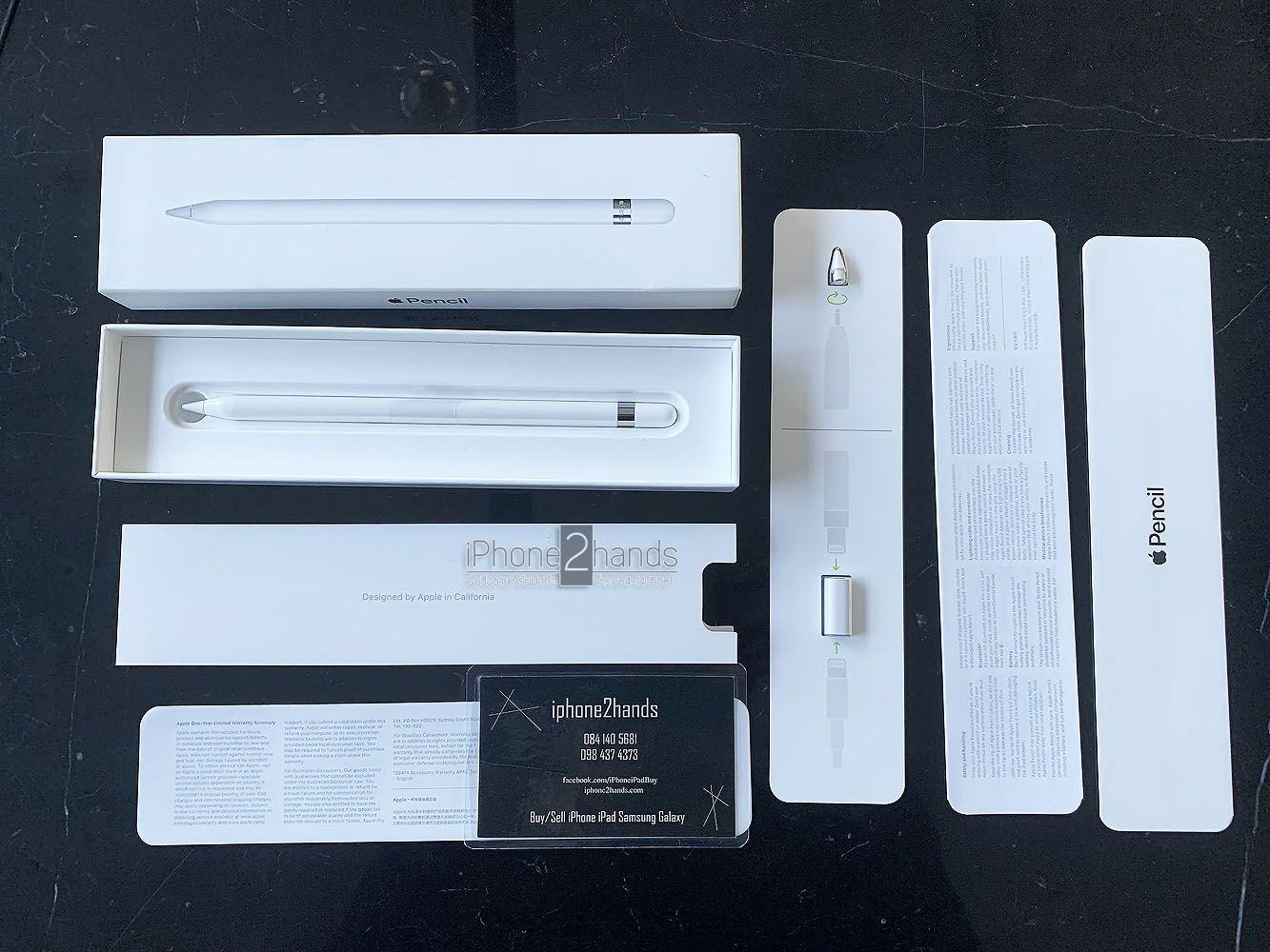 ขาย Apple Pencil Gen 1 มือ1 ประกัน 1 ปี ครบกล่อง ราคาถูก