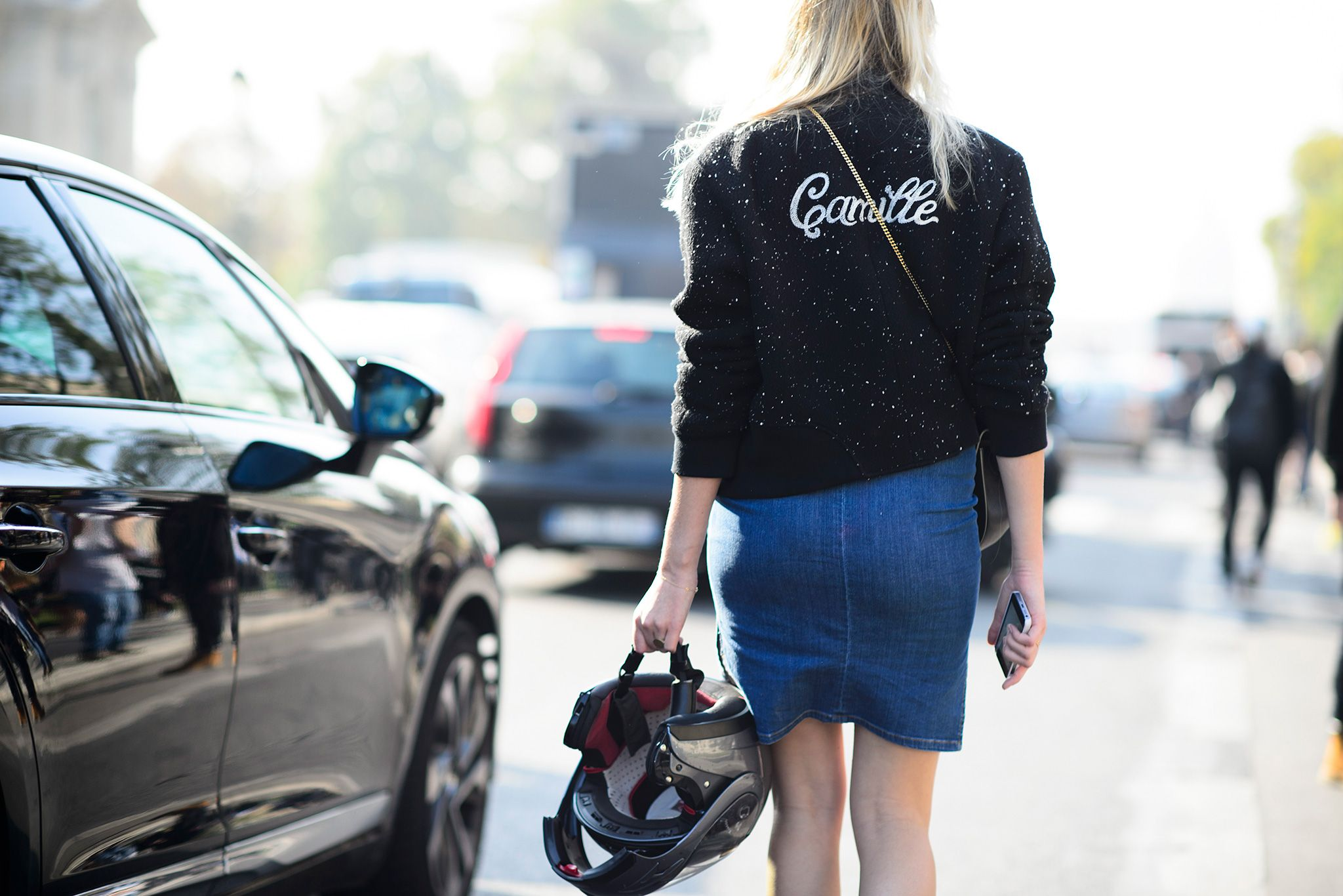 Say My Name: Our Favorite It Girls Make a Case for Personalized Jackets - Gallery - Style.com