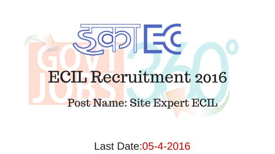 ECIL Recruitment 2016