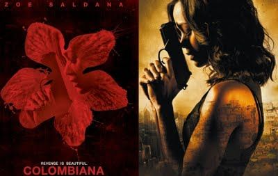 Love Love Love The Painting In The Movie Colombiana Maybe I Will Re Create For Myself Zoe Saldana Columbiana Movie Columbiana