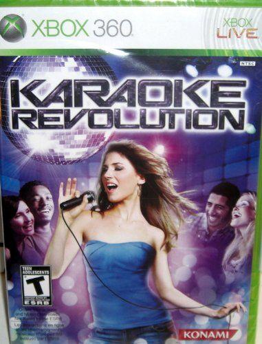 Karaoke Revolution Game Only Xbox 360 Konami Http Www Amazon