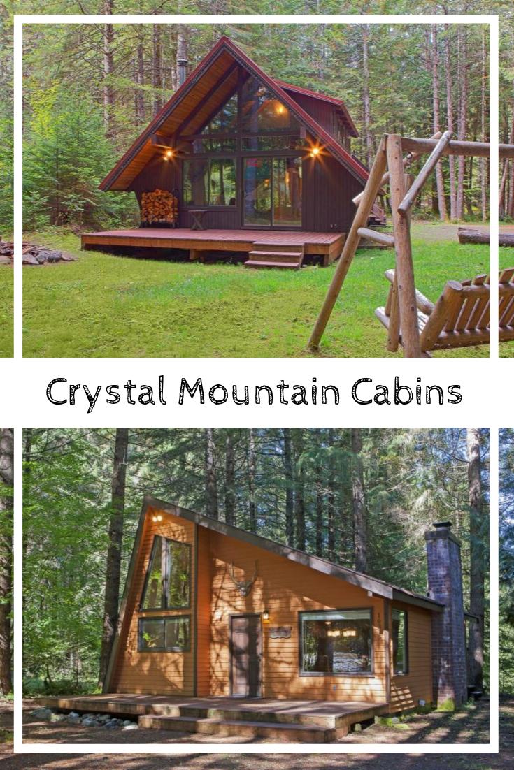 Crystal Mountain Cabins Cabin Mount Rainier National Park Mountain Cabin