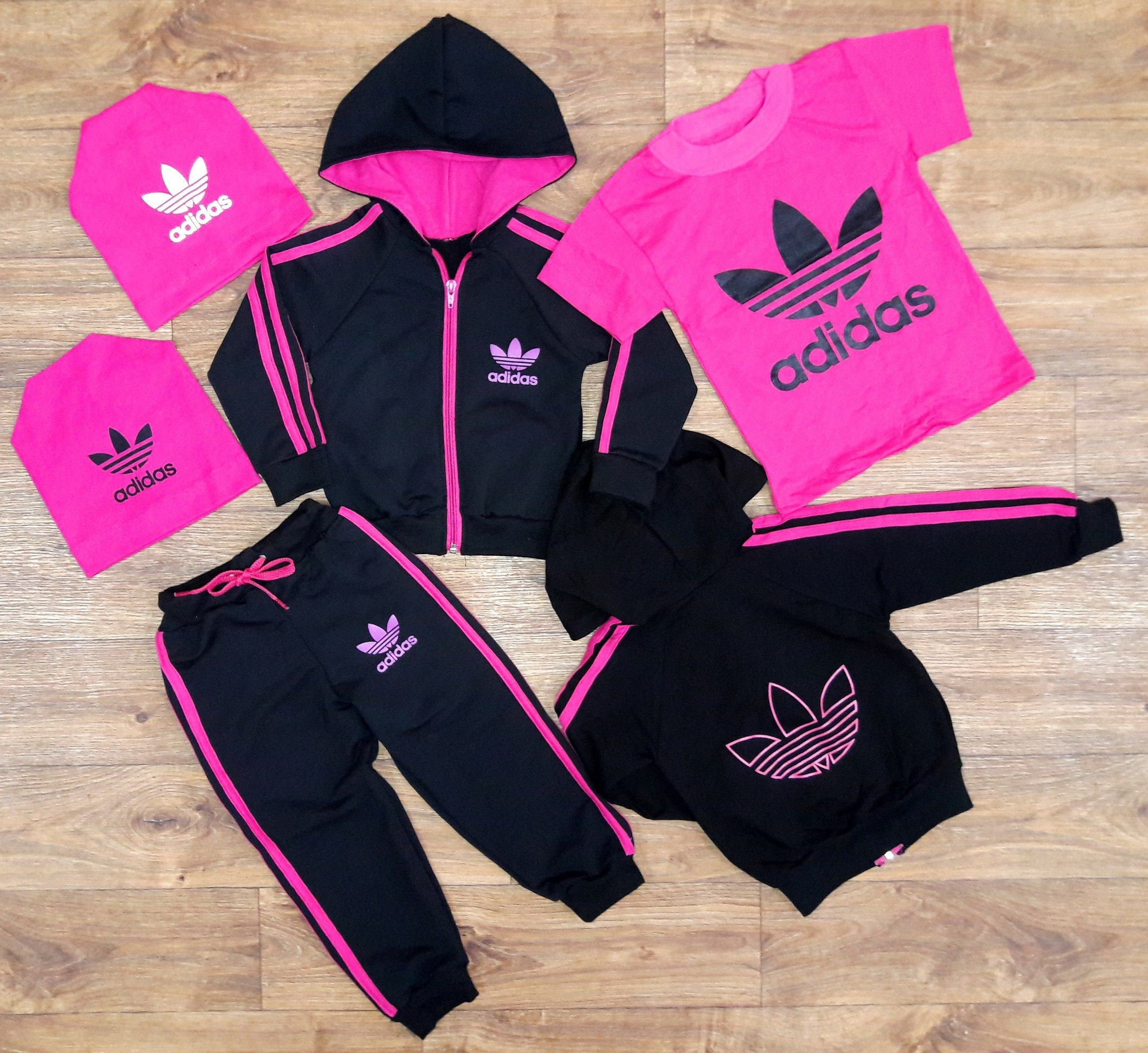 Adidas Originals Infant Baby Girls Tracksuit Outfit Set | eBay