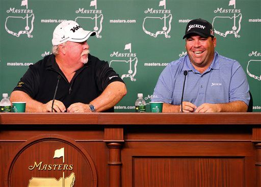 Father and son gearing up for historic Masters - US News