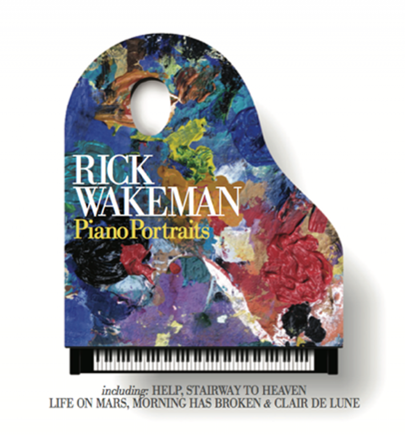 [Leaked] Rick Wakeman – Piano Portraits. Listened to him on the Danny Baker show. The man is a legend and soooooo funny.